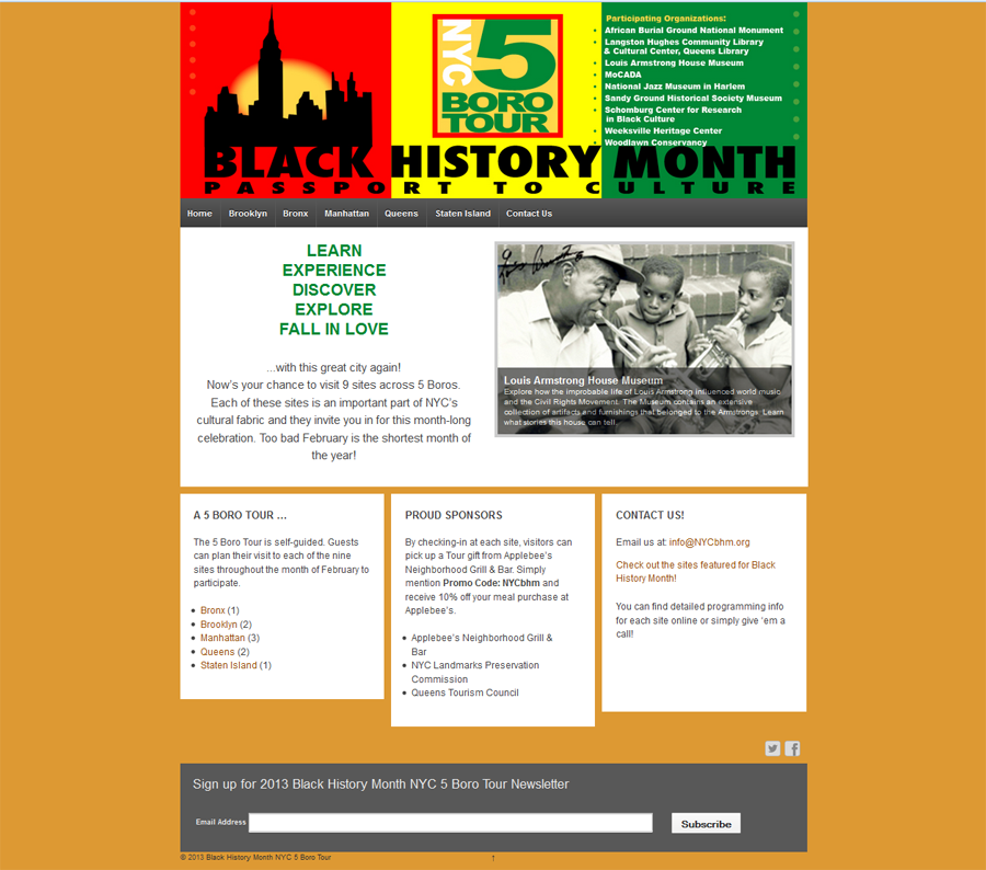 NYC Black History Month Campaign